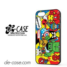 Marvel Assemble DEAL-6940 Apple Phonecase Cover For Iphone SE Case