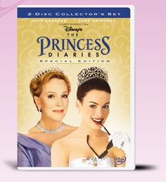 The Princess Diaries (DVD/ English / French / Collector's Set / Special Edition) Julie Andrews, Anne Hathaway, Hector Elizondo, Heather Matarazzo, Mandy Moore Sam Heughan, Love Movie, I Movie, Movie List, Nicholle Tom, The Princess Diaries 2001, Diary Movie, Garry Marshall, Princess Movies