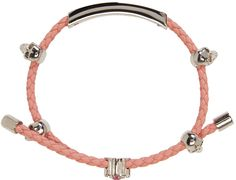 Alexander McQueen - Pink Friendship Skull Bracelet