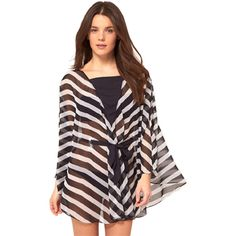 Black and White Stripe Womens Batwing Sleeve Blouse ($24) ❤ liked on Polyvore featuring tops, blouses, black, stripe top, black and white striped top, black white stripe top, black white striped top and black and white stripe top