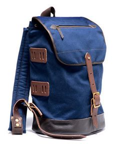 8d89dd026b 100% cotton canvas backpack with leather bottom. Handmade in Germany since  1896! Canvas