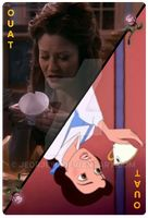 OUAT Special Card Belle and Chip