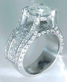 Huge Engagement Rings Settings For Round Diamonds 19