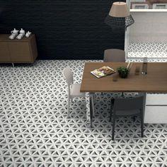 Hexagram Porcelain Floor Tiles