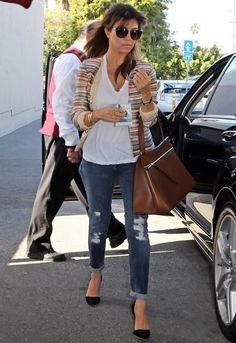 Hudson Jeans Krista Jean in Blondie - as seen on Kourtney Kardashian  $205
