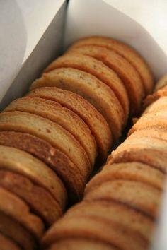 Sablés au sésame - Butter sesame biscuits