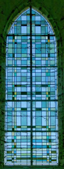 (Vitrail) Vitraux de la chapelle Saint-Avit à Aix-en-Othe (Aube)