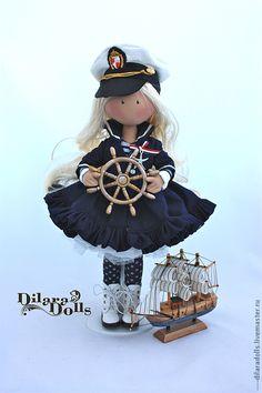 Человечки ручной работы. Ярмарка Мастеров - ручная работа текстильная кукла  Alexis. Handmade.