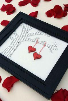 Valentinstag, Hochzeitstag, mit einem dritten Herzen fürs Kind ... das ist eine vielseitig schöne Herzenssache!