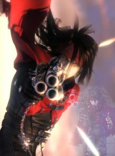 """Vincent Valentine : Hero  Memorable Quote : """"That was my sin... and this... this is my punishment."""""""
