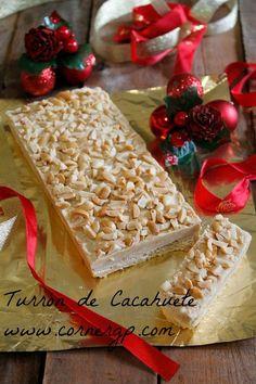 TURRÓN DE CACAHUETE
