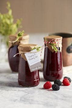 Enjoy the warm spices of winter year-round in this delicious spiced jam made with fresh berries. It's a cinch to throw together and is perfe