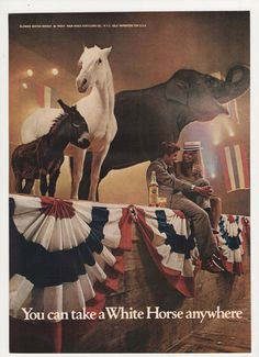 =-=1972 White Horse Blended Scotch