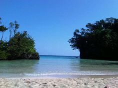 A clear morning at Frenchman's Cove, #Jamaica