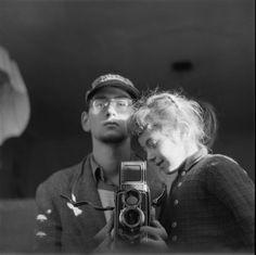 varietas:  Philip Mechanicus: Self-portrait with Judith, 1956