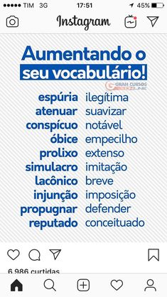 Build Your Brazilian Portuguese Vocabulary Portuguese Grammar, Portuguese Lessons, Portuguese Language, Learn Brazilian Portuguese, Study Organization, Study Hard, Study Inspiration, E 10, Study Notes