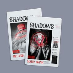 "Echa un vistazo a este proyecto @Behance: \u201c""SHADOWS"" / Suplemento de Diario / Editorial\u201d https://www.behance.net/gallery/41926853/SHADOWS-Suplemento-de-Diario-Editorial"