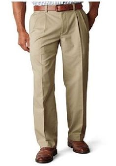 Dockers D4 men's pants pleated true chino relaxed cotton solid size 30x30 NEW 19.99 http://www.ebay.com/itm/Dockers-D4-mens-pants-pleated-true-chino-relaxed-cotton-solid-size-30x30-NEW-/231580848334?ssPageName=STRK:MESE:IT