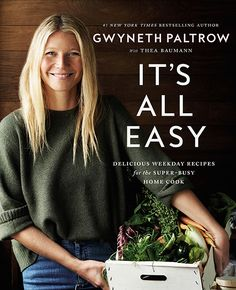 "Read ""It's All Easy Delicious Weekday Recipes for the Super-Busy Home Cook"" by Gwyneth Paltrow available from Rakuten Kobo. The New York Times bestselling cookbook that will help anyone make delectable, healthy meals in no time! Sophie Dahl, Singapore Rice Noodles, Pita Bread Pizza, Tapas, Healthy Cook Books, Best Cookbooks, Weekday Meals, Healthy Recipes, Healthy Meals"