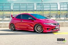 Honda Civic Sport, Honda Type R, Honda Jazz, Japan Cars, Jdm Cars, Car Stuff, Cars And Motorcycles, Automobile, Bike