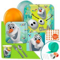 Disney Olaf Party #OlafParty #DisneyOlaf #OlafBirthday