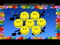 Happy Birthday Smilies on Your Birthday - YouTube