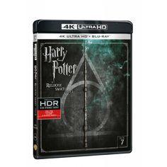 Blu-ray Harry Potter a relikvie smrti část UHD + BD, CZ dabing Galaxy Phone, Samsung Galaxy, Harry Potter, It Cast, Fantasy, Fantasia