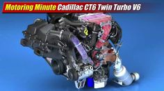 General Motors this week announced another tidbit about their upcoming Cadillac CT6 flagship sedan, an all new generation of high-feature V6 engines.  The top rung of this new engine architecture is
