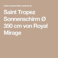 Saint Tropez Sonnenschirm Ø 350 cm von Royal Mirage