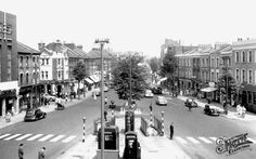 High Road, North Finchley, circa 1960 (I lived here in the late 60s)
