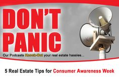 5 Real Estate Tips For Consumer Awareness... https://itunes.apple.com/us/podcast/kim-odegard-team/id591256327