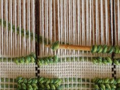 Obviously I couldn't wait to try the technique myself... so here's how to weave pibiones (the word, in Sardinian dialect, means grape ) Wa...