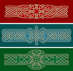 Stock vector of 'Celtic ornaments and patterns for design and ornate'