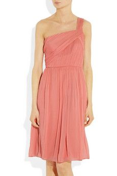 J.Crew - pretty in pink for my 12 year old bridesmaid, maybe add a jeweled belt and adjust to her size...