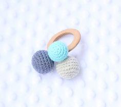 akcesoria - niemowlak - gryzaki i śliniaki-Gryzak-grzechotka
