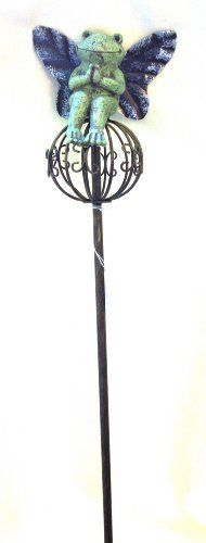 Butterfly Frog Garden Stake by Grasslands Road. $13.99