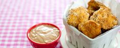 Barbecue Baked Chicken Nuggets Recipe | Eating richly even when you're broke