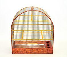 WOODEN HANDMADE BIRD CAGE Songbird,Canary,Finch | eBay