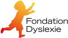 Logo Fondation Dyslexie Logos, Adhd, Dyslexia, Logo