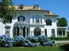 Chepstow, Newport R., home of Edmund Schermerhorn, The Recluse Design Your Dream House, House Design, American Mansions, House Flippers, House Games, Newport Rhode Island, Grand Homes, Classic House, House Styles