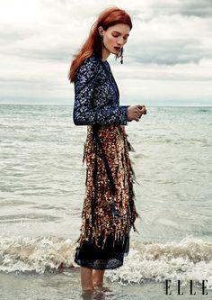 Kristin Zakala for Elle Canada December 2015