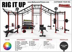 "Dynamic Fitness en Twitter: ""How many customization options do your rigs have?…"