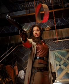 Zoe Washburne played by Gina Torres from Firefly/Serenity