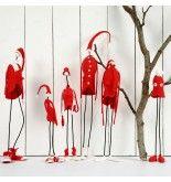 Silk Clay Christmas Elves