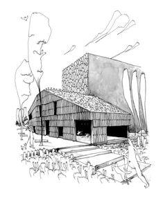 Galeria de Centro Comunitário Christian Marin / Guillaume Ramillien Architecture - 19