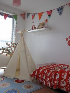 Wigwam play tent NO POLES.  Plain fabric tent parts by moozlehome.  Beautiful indoor play teepee. 100% unbleached cotton base cloth. Encourage imaginative play with this delightful teepee, it's a great place to camp out with a snack and a book or host a teddy bears picnic!