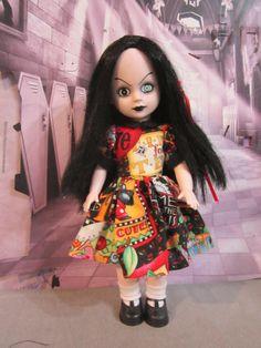 Home Spun - Bright Bodice Dress for Living Dead Dolls