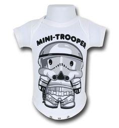Star Wars Mini-Trooper Infant Snapsuit