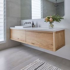 A timeless favourite! Our 'Airlie' vanity in collaboration with 🌿 Busy designing (and building) some BEAUTIFUL bathrooms… Family Bathroom, Bathroom Kids, Bathroom Inspo, Bathroom Renos, Kyal And Kara, Beautiful Small Bathrooms, Home Textile, My Dream Home, Double Vanity