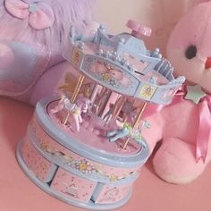 Pastel carousel - it's Kawaii !!!